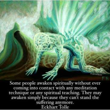 Spiritual persons wo meditation